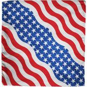 American flag cotton bandana