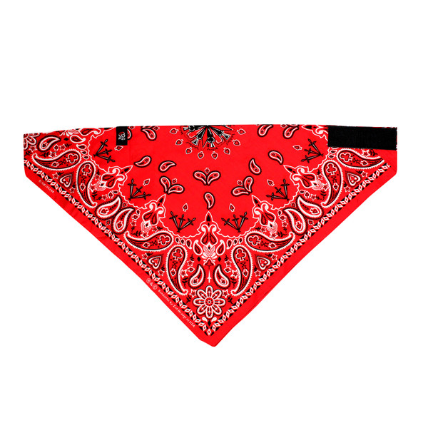 Red Paisley Cotton 3-IN-1 Bandana