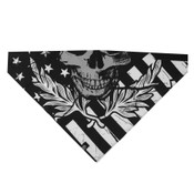 Reflective Skull Cotton Bandana