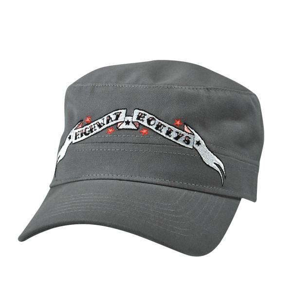 Grey Military Cap
