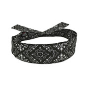 Black Paisley Cotton Cooldanna