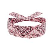 Pink Paisley Cotton Cooldanna