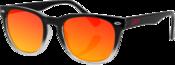 NVS Sunglasses Smoked Crimson Gloss