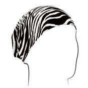 Zebra Cotton Headwrap