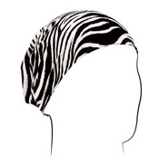 Zebra Cotton Headwrap
