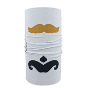 Mustaches Polyester Motley Tube®