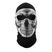 Black and white Skull Full Mask