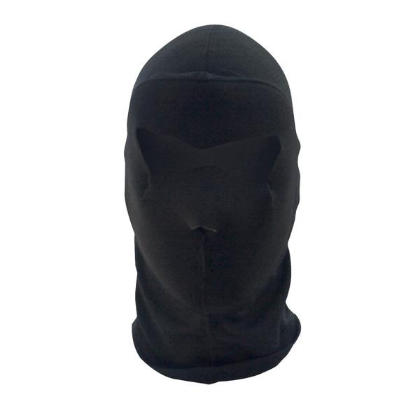 Black Balaclava COOLMAX® Half Mask