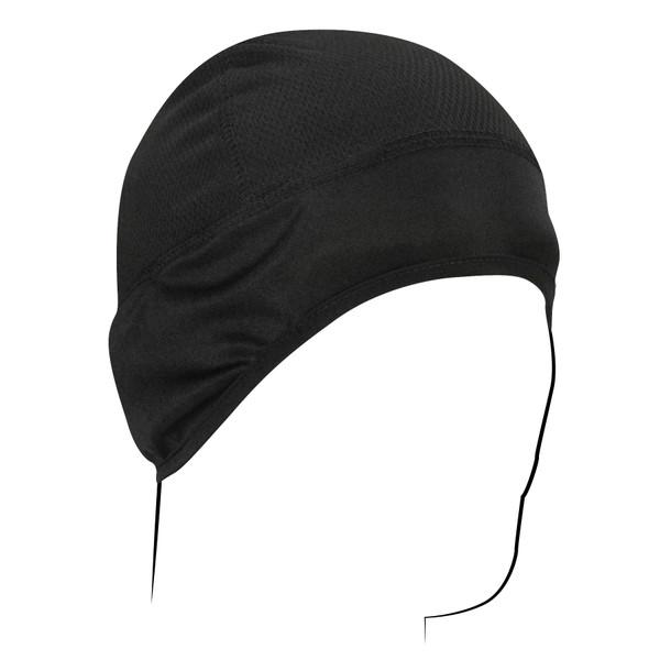Black COOLMAX® Skull Cap