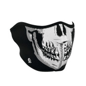 Reflective Skull Face Half Mask