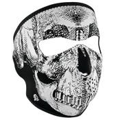 Reflective Skull Neoprene Full Mask