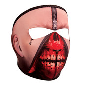 Zipper Face Neoprene Full Mask