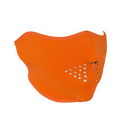 High-Visibility Orange Neoprene