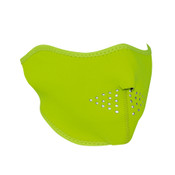 High-Visibility Lime Neoprene Half