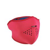 Pink Neoprene Half Mask