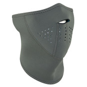 Gray 3-Panel Neoprene Half Mask