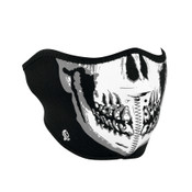 Black and White Skull Oversize Mask
