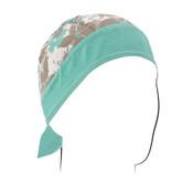 Blue Floral Flydanna headwrap