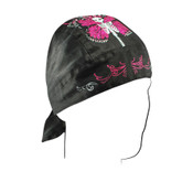 Skull Butterfly Road Hog headwrap